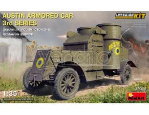 MINIART MIN39005 AUSTIN ARMORED CAR 3rd SERIES INTERIOR KIT 1:35 Modellino