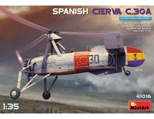 Miniart Min41016 Spagnolo Cierva C 30a Kit 1:35 Modellino