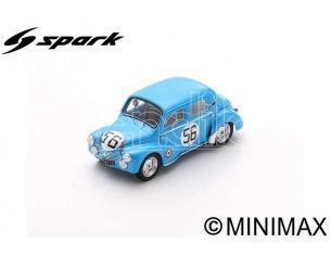 SPARK MODEL S5223 RENAULT 4 CV N.56 LM 1952 J.E.VERNET-J.PAIRARD 1:43 Modellino