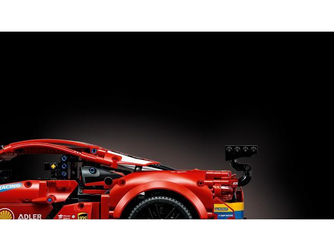 "LEGO TECHNIC 42125 - FERRARI 488 GTE ""AF CORSE"" NUMERO 51"