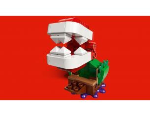 LEGO SUPER MARIO 71382 - LA SFIDA ROMPICAPO DELLA PIANTA PIRANHA
