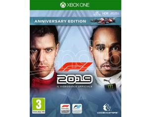 F1 2019 ANNIVERSARY EDITION GUIDA/RACING - XBOX ONE