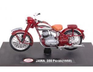 Abrex ABM008 MOTO JAWA 350 PERAK 1950 AMARANT 1:18 Modellino