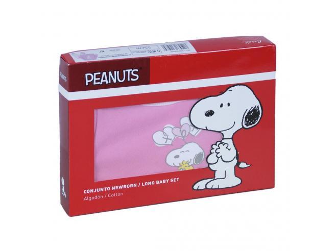 Snoopy Pigiama Lungo In Cotone Adulto Cerdà