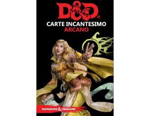 D&D V EDIZIONE CARTE INCANTESIMO ARCANO GIOCO DI RUOLO ASTERION
