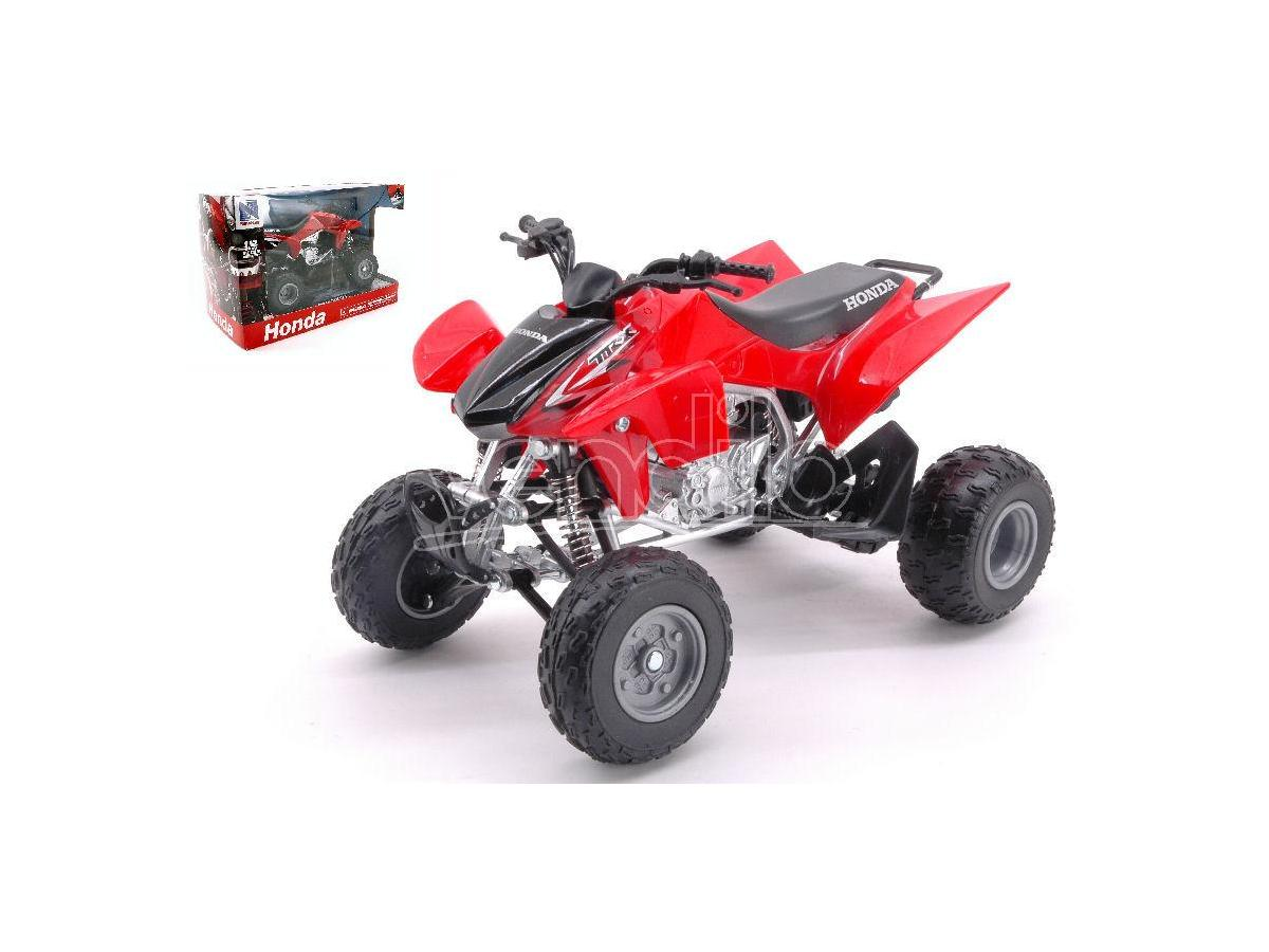 New Ray NY57503HR ATV-QUAD HONDA TRX450R RED 1:12 Modellino