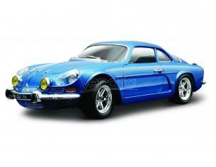 Bburago BU22093 ALPINE RENAULT A110 1600S 1971 BLUE 1:24 Modellino