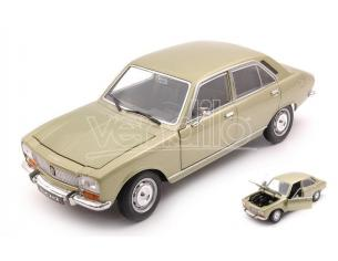 WELLY WE24001GR PEUGEOT 504 1975 METALLIC LIGHT GREEN 1:24 Modellino