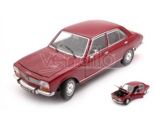 WELLY WE24001MR PEUGEOT 504 1975 BORDEAUX 1:24 Modellino