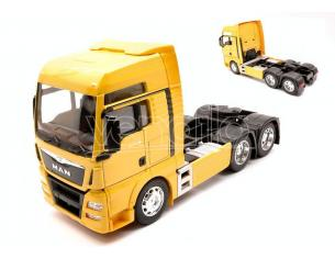 WELLY WE32650LY MAN TGX 26.440 (6x4) YELLOW 1:32 Modellino