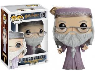 Harry Potter Funko POP Film Vinile Figura Albus Silente con Bacchetta 9cm