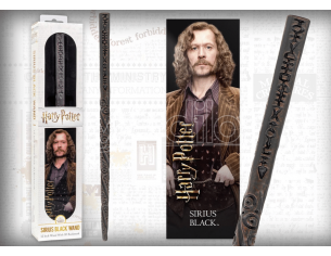 Harry Potter Bacchetta Magica Sirius Black + Segnalibro 3D Noble Collection