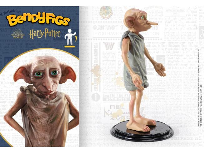 Harry Potter Figura BendyFigs Dobby 19 cm Noble Collection