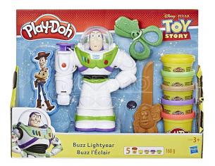 PLAYDOH - DISNEY BUZZ LIGHTYEAR PASTA DA MODELLARE GIOCHI EDUCATIVI