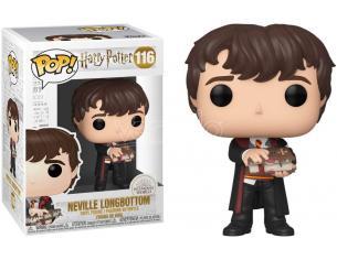 Harry Potter Funko POP Vinile Figura Neville Paciock con Libro dei Mostri 9 cm