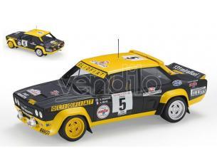 TOPMARQUES TOP43F FIAT 131 ABARTH N.5 WINNER RALLY TOUR DE COURSE 1977 DARNICHE-MAHE 1:18 Modellino