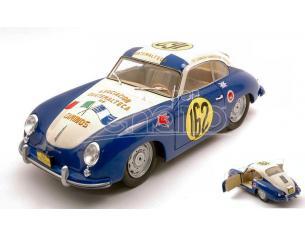 SOLIDO SL1802803 PORSCHE 356 PRE-A N.162 PANAMERICANA RACE 1953 MANFREDO LIPPMANN 1:18 Modellino