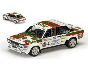 TOPMARQUES TOP43H FIAT 131 ABARTH TOTIP RALLY ELBA 1982 A.ZANUSSI-A.BERNACCHINI 1:18 Modellino