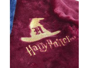 Harry Potter Vestaglia Bambino Corallo in Pile con Cappello Parlante Cerdà