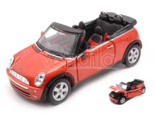 MAISTO MI31998OR MINI COOPER CABRIOLET 2011 ORANGE 1:24 Modellino