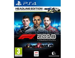 F1 2018 - HEADLINE EDITION GUIDA/RACING PLAYSTATION 4