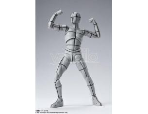 Body Kun Wireframe Gray Action Figura Bandai