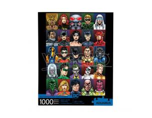 DC FACES 1000 PCS PUZZLE PUZZLE AQUARIUS ENT
