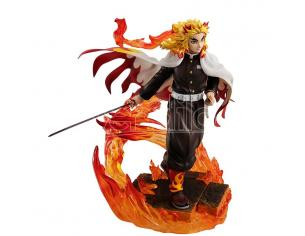 Demon Slayer Rengoku Kyoujur Gem Statua Statua Megahouse