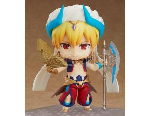 FATE G/O CASTER GILGAMESH ASCE NENDOROID MINI FIGURA ORANGE ROUGE