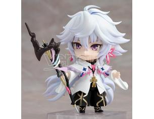 FATE G/O CASTER MERLIN NENDOROID MINI FIGURA ORANGE ROUGE
