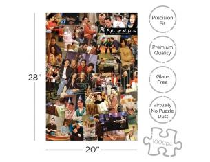 FRIENDS COLLAGE 1000 PCS PUZZLE PUZZLE AQUARIUS ENT