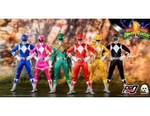 Mighty Morp Power Rangers Six-pack Action Figura Threezero