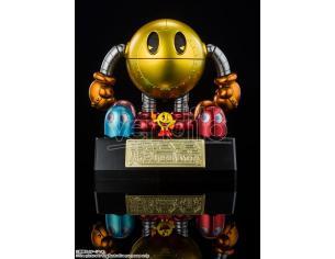 Pac-Man Statua Pac-Man DieCast Chogokin Tamashii Nations Figura 10cm Bandai