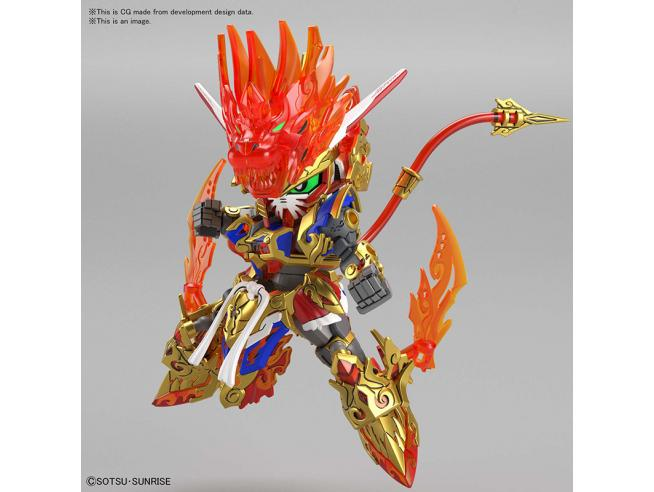 SDW HEROES GUNDAM WUKONG IMPULSE MODEL KIT BANDAI MODEL KIT