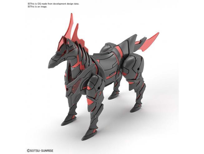 SDW HEROES WAR HORSE MODEL KIT BANDAI MODEL KIT