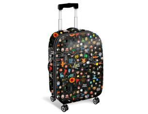 Harry Potter Leviosa ABS trolley suitcase 4w 54cm Karactermania