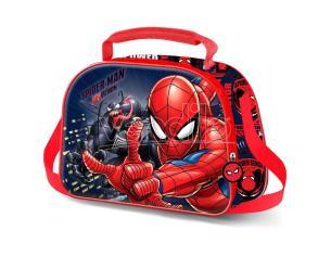Marvel Spiderman 3d Borsa Per Il Pranzo Karactermania