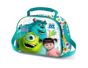 Disney Pixar Monsters, Inc. Mike E Sully 3d Borsa Per Il Pranzo Karactermania