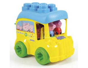 Clemmy Baby Peppa Pig activity bus Clementoni