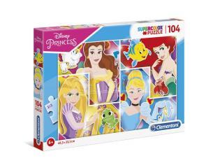 Disney Princess puzzle 104pcs Clementoni