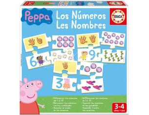 Peppa Pig Numbers Educa Borras
