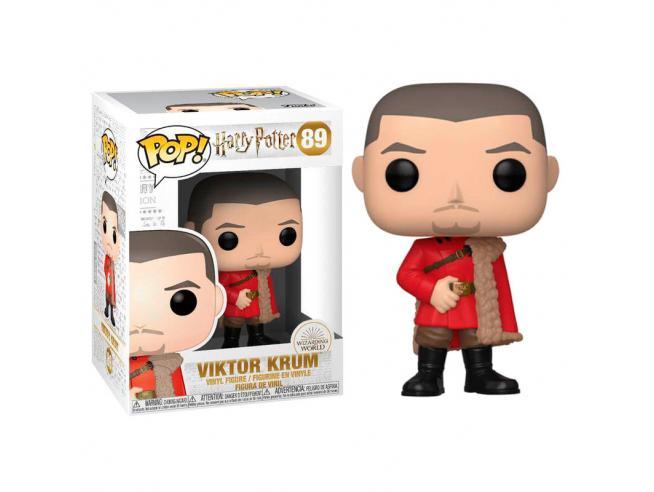 Harry Potter Funko POP Film Vinile Figura Viktor Krum al Ballo 9 cm