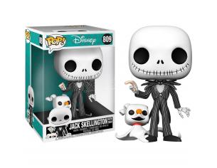 Nightmare Before Christmas Disney Funko POP Vinile Figura Jack Con Zero 25cm