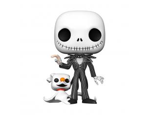 Pop Figura Disney Nightmare Before Natale Jack Con Zero 25cm Funko