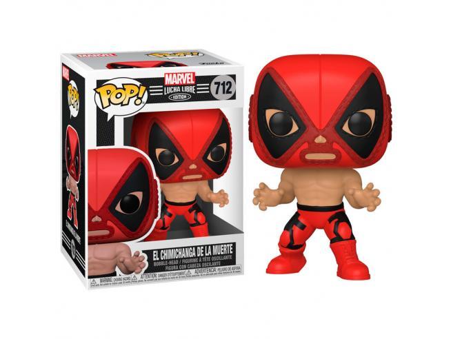 Pop Figura Marvel Luchadores Deadpool La Chimiganga De La Muerte Funko
