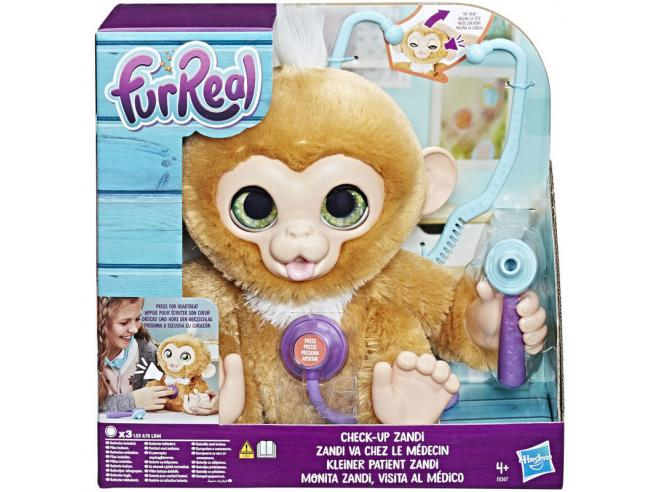 Check-Up Zandi Little Monkey Hasbro