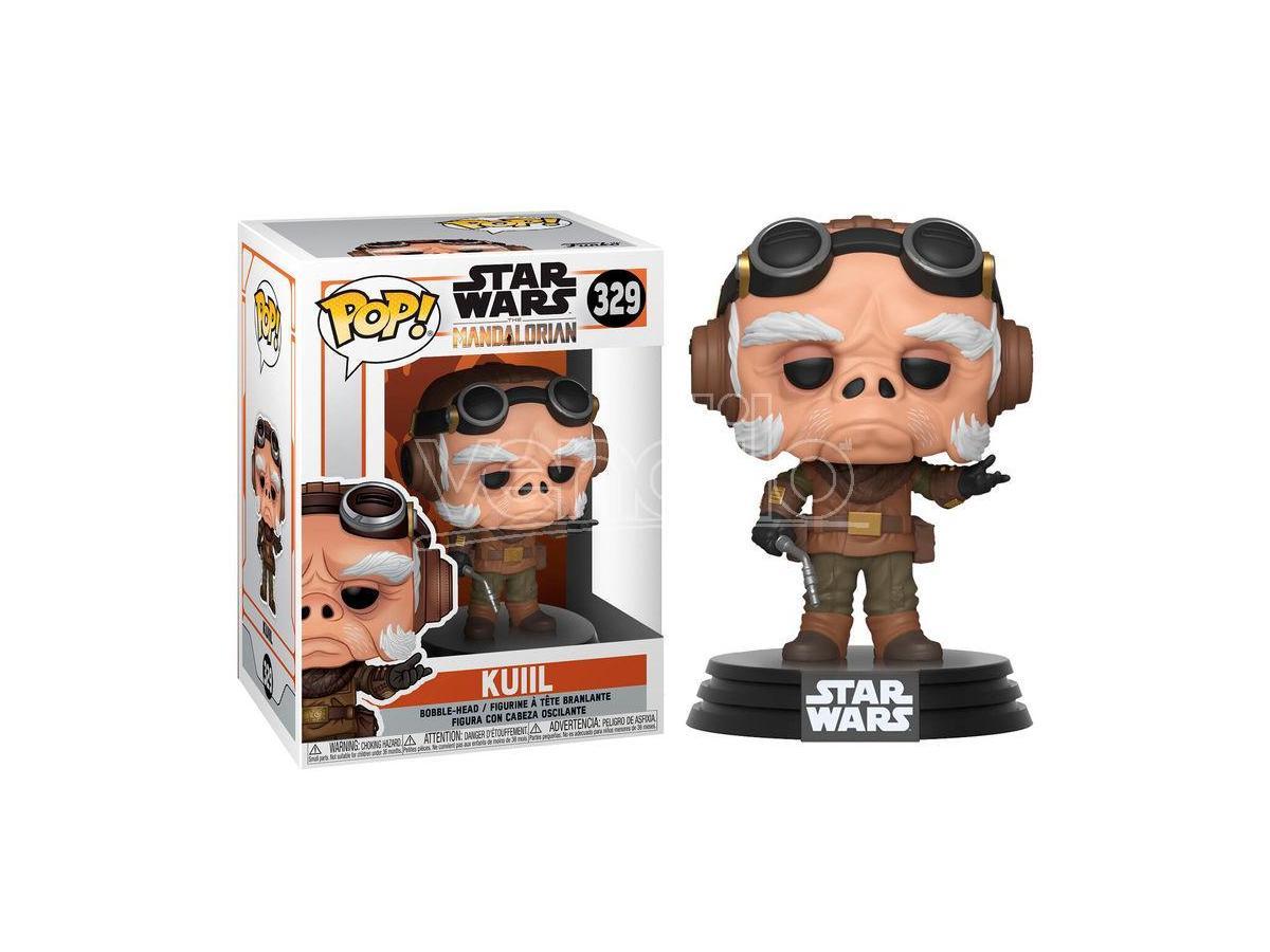 Pop Figura Star Wars Mandalorian Kuiil Funko