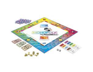 Monopoly Millennials Spagnolo Game Hasbro