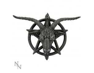 BAPHOMET WALL PLAQUE PLACCA DA MURO NEMESIS NOW