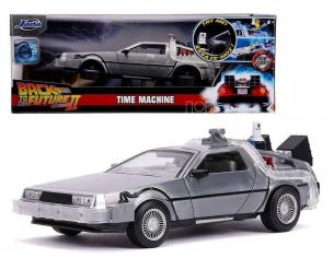 BTTF II DELOREAN DIE CAST 1:24 W LIGHTS MODELLI IN SCALA MODEL CAR